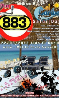 22/06/2013 - Lido El Caribe *Saturday Live *I Reggini del Celebrità - 883 Cover Band & Disko MuziK